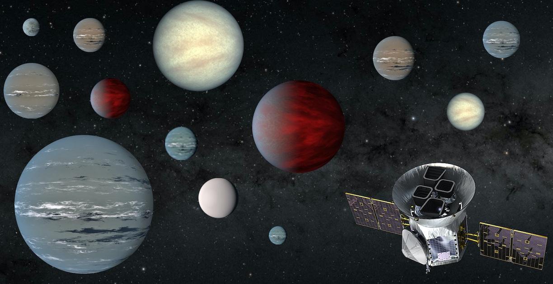 El telescopio TESS ha encontrado más de 2 mil exoplanetas en dos años